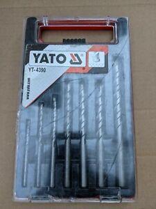 YATO 7 PCE MASONARY DRILL BIT SET
