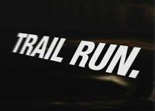 TRAIL RUN Runner Running Car Van Bike Truck Vinyl Decal JDM DUB VAG EURO Funny