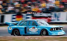 Peter Schneeberger BMW 320 5 Hockenheim DRM 1977 fotografía de grupo 1