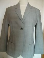 Orig. AUST -sportlich eleganter Glencheck-Blazer mit Wolle Gr. 36 fast neu