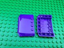 Lego City Town QTY2 PURPLE ROOF pieces Friends Car Tops Plate