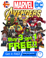 Marvel Avengers DC Custom Mini Figures Superhero Star Wars Minifigure Heroes