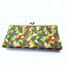 Vintage Lennox Clutch Multi-Color Lace