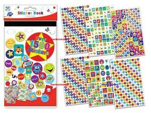 Mega Sticker Book - Over 1500 Stickers Kids Creative Fun Activity Crafts Sheets