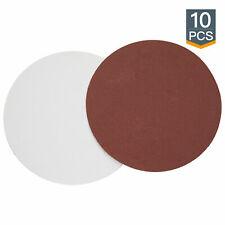 """POWERTEC 10 pcs 8"""" Sanding Disc 240 Grit Aluminum Oxide Sandpaper(110570)"""