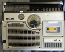 VINTAGE JVC 3060 PORTABLE RADIO TV CASSETTE PLAYER BOOMBOX VGC LOOKS NEW 1977