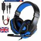 Gaming Gamer Headphones Auriculares Audifonos Gaming Para PC Xbox One 360 PS4