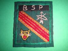 ARVN Hand Sewn Patch Mobile Guerrilla Force B S P (Buon Sar Pa) From Vietnam War