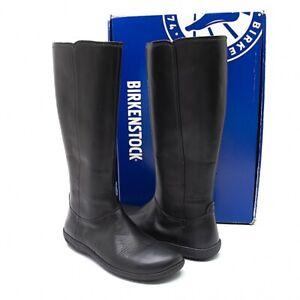 BIRKENSTOCK Leather Long Boots Size 39(K-94820)