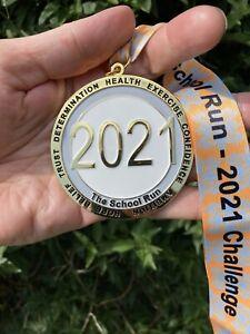 2021 Virtual Medal Run Walk Swim Cycle Any Distance