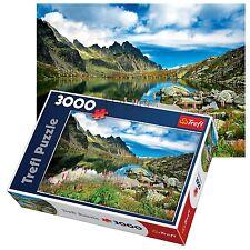 Trefl 3000 Piece Adult Large Starolesnianski Pond Slovakia Tatras Jigsaw Puzzle