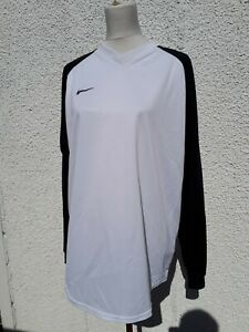 Nike Mens Size XL Black White Sports Top Training Wear Extra Large Number 4 No 4