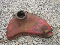 Farmall M early SM tractor IH engine motor front cover panel