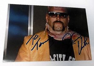JESSE 'The Body' VENTURA Autographed 4x6 PHOTO 80s WWF Wrestler POLITICIAN Pc919