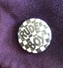 Prince Controversy 'Rude Boy' Fan Tribute Commemorative Button Pin Badge  - 25mm