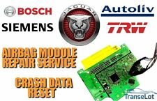 JAGUAR AIRBAG ECU SRS ECU AIRBAG MODULE CRASH DATA RESET REPAIR SERVICE
