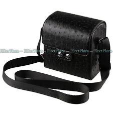 Leather Camera & Lens Case For Samsung NX10 NX11 NX100 NX200 Nikon 1V1 1J1 J2 V2
