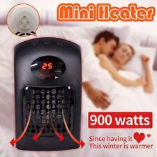 900W Keramik Digitaler Heater Heizlüfter Mini Heizung Elektro Heizgerät Timer