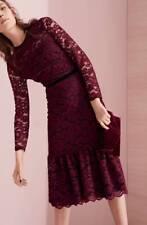 Maggy London Lace Midi Dress ( size 6)