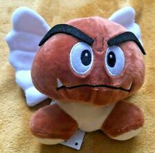 "Super Mario Plush Teddy - Paragoomba (Goomba Wings) Soft Toy -Size 5"" / 12cm NEW"