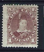 Newfoundland #41, 1 cent, Mint Hinged