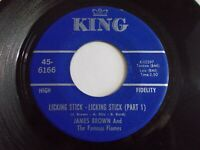 James Brown I Guess I'll Have To Cry Cry Cry / Just Plain Funk 45 Vinyl Record