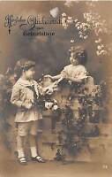 BG4221 geburtstag birthday boy and girl  flower children  germany   greetings