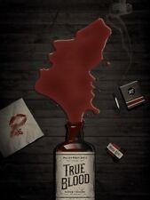 Trueblood TV Pop Culture Paleyfest 2011 Horror Art Print