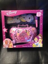 Disney Princess Karaoke Machine 2002 Brand New ! Cinderella Belle & Ariel