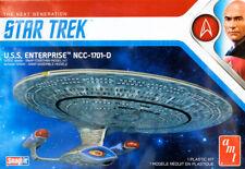Star Trek U.S.S. Enterprise NCC-1701-D SnapIt 1:2500 AMT Model Kit AMT1126