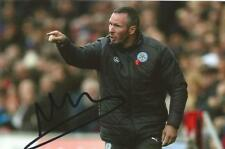 LEICESTER: MICHAEL APPLETON SIGNED 6x4 ACTION PHOTO+COA