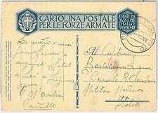 ITALIA COLONIE - Storia Postale - FRANCHIGGIA MILITARE : POSTA MILITARE N. 70