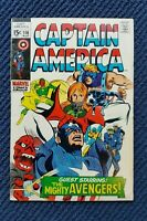 Captain America #116 (1969 FN+) Marvel Comics Cover  ~StoryTeller