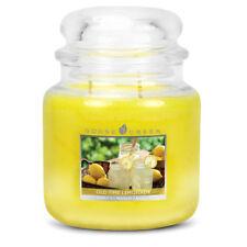 Goose Creek - DOUBLE WICK MEDIUM JAR CANDLE - Old Time Lemonade