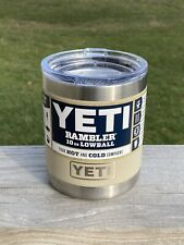 Yeti Sand 10oz Rambler Lowball New Rare Retired Color Sold Out