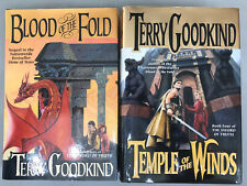 Terry Goodkind The Sword Of Truth #3 And #4 Both 1st/1st Editions Lot