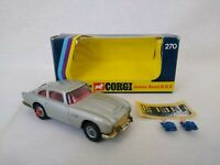 Corgi Toys 270 James Bond 007 Aston Martin DB5 1973 Diecast Car Free Postage