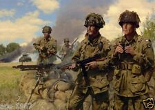 Easy Company 101st Airborne Easy company D-Day large poster #2