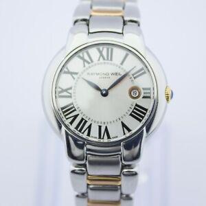 Two Tone Gold Steel Raymond Weil Quartz Jasmine Watch 28mm Ref:5229 RRP £895