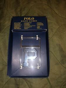 Ralph Lauren Polo Chrome Steel Bottle Opener NWT