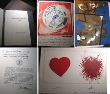 1979 SIGNED ARTWORKS POTSDAM NY ARTISTS PORTFOLIO SIGNED BY PRESIDENT VG