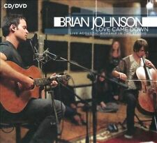 Love Came Down: Live Acoustic Worship In The Studio - Brian Johnson [CD/DVD]