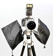 Universal Waterproof Rain Cover Camera Lens Protector For Nikon Canon SLR DSLR