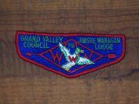 Jibshe Wanagan Lodge 1970's Flap, Grand Valley Council MI