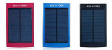 30000mAh Solar Dual-USB Power Bank Battery Charger for iPhone 11 XS X SE 6S 7 8