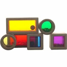 Wonderworld Wooden Rainbow Sound Blocks - Item