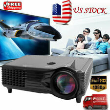 LED LCD Projector HD 7000 Lumen USB/SD/AV /HDMI Home Cinema Theater Video BT
