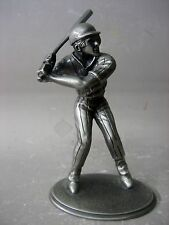 Limited edition pewter baseball figurine, made in England
