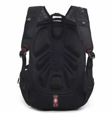Men travel backpack student school bag Wenger computer laptop rucksack