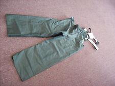 Carhartt Rain Bib Pants Green - Professional Quality - Size Small - Regular Fit